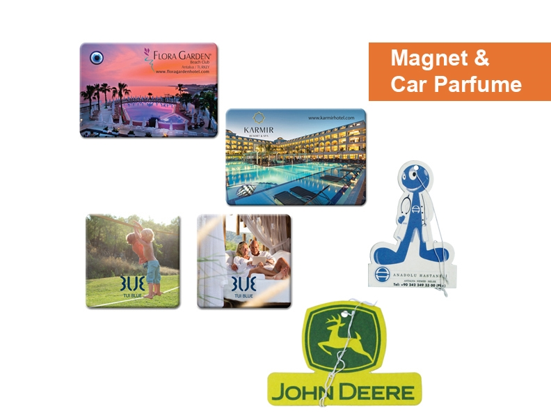 Magnets & Car Perfume - Promotion