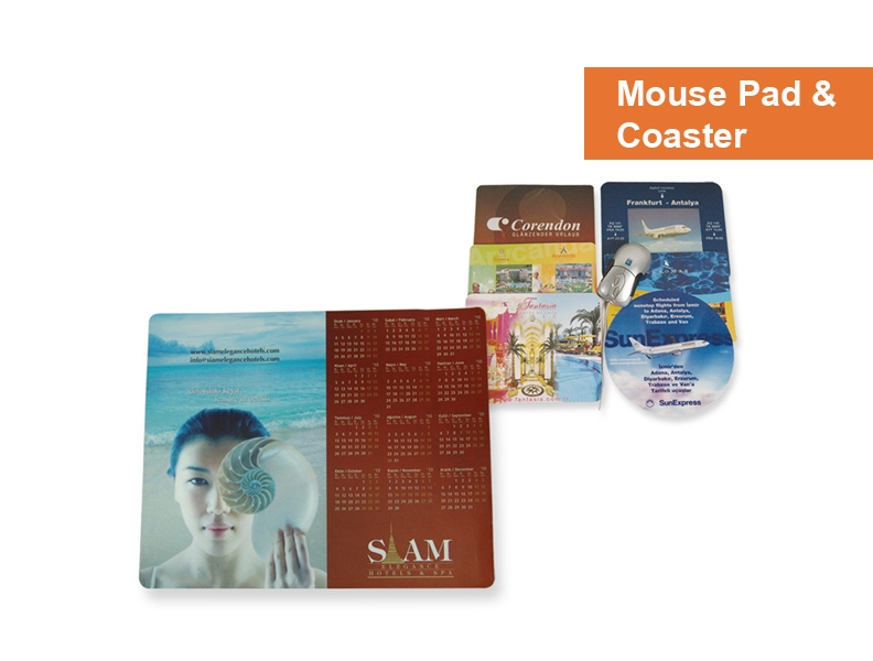 Mouse Pads & Beverage Coasters -Promotion