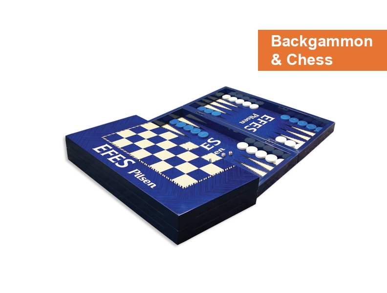 Backgammon & Chess - Promotion