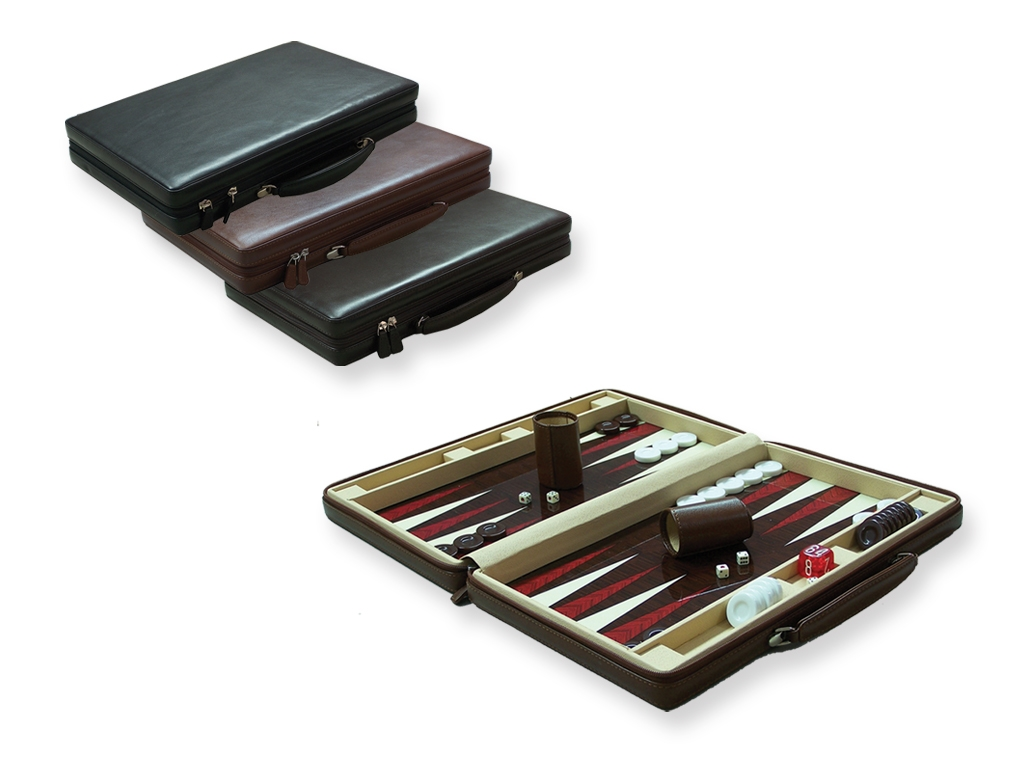 Leather Bags Backgammon